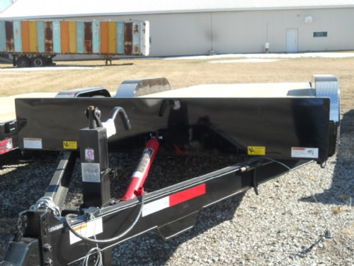 2011 Finish Line 8 1/2x20 electric tilt/7000 lb axles