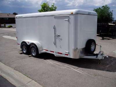2007 S & H 16 ft enclosed cargo