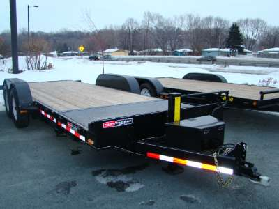 2007 Mac-Lander flatbed/split tilt bed