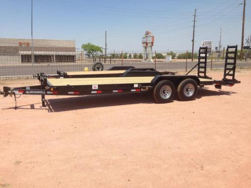 2016 Norstar ironbull 83x22 equipment trailer