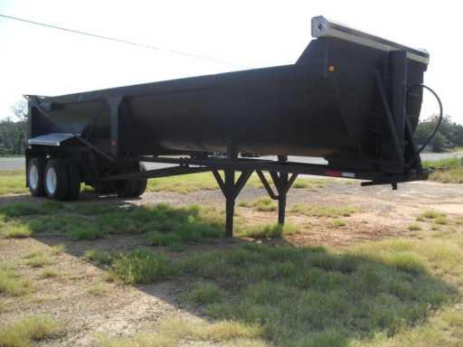 2001 Gallegos gallegos 34ft half round demolition trailer