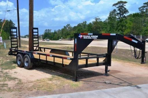 2017 Texas Pride 20ft gn lowboy