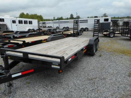 2016 Lawrimore 20 equipment trailer