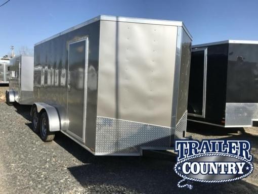2017 Spartan enclosed cargo trailer