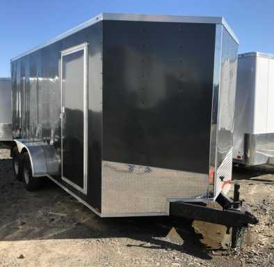 2017 Spartan enclosed cargo trailer