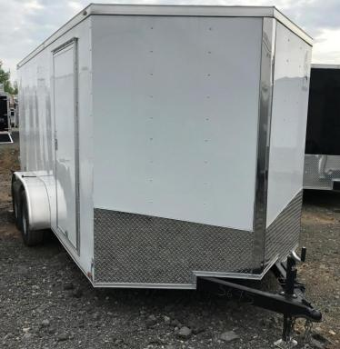 2018 Spartan enclosed cargo trailer
