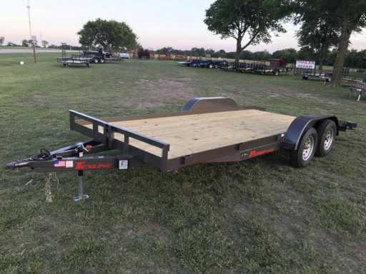 2017 Texline flatbed car hauler
