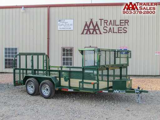 2018 East Texas landscape trailer