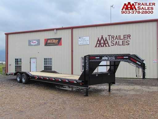 2018 East Texas gooseneck car hauler trailer