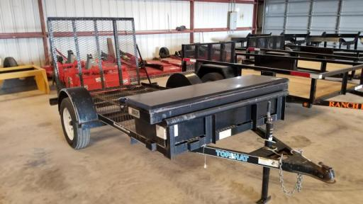 2009 Top Hat 5x10 flatbed