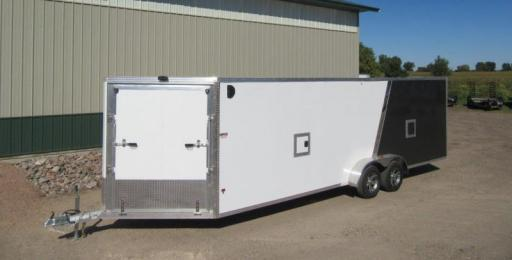 2018 Ez Hauler enclosed snowmobile trailer