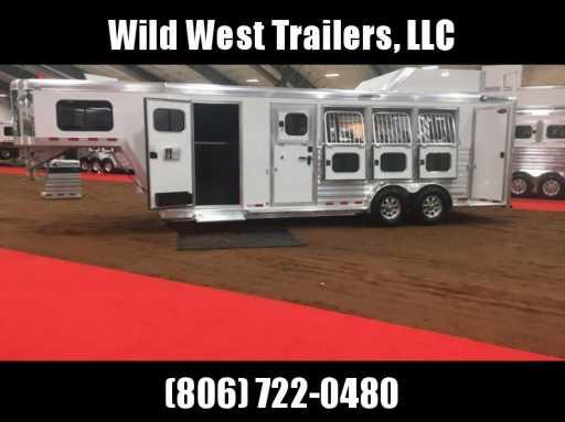 2018 Cimarron trainer's trailer