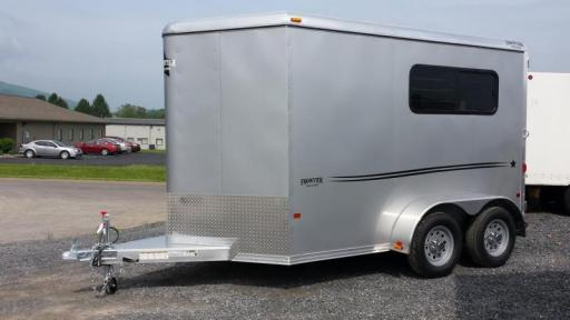 2015 Frontier frontier aluminum trailers starlite series 2-horse straight load
