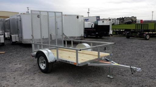 2017 Load Rite 5x8 galvanized open side