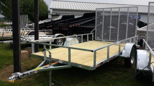 2018 Load Rite 6.5x12 galvanized open side