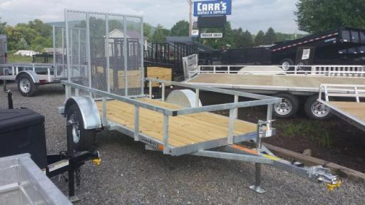 2017 Load Rite 5x10 galvanized open side