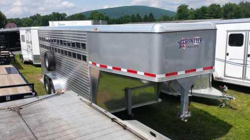 2015 Frontier frontier aluminum trailers 20ft livestock series