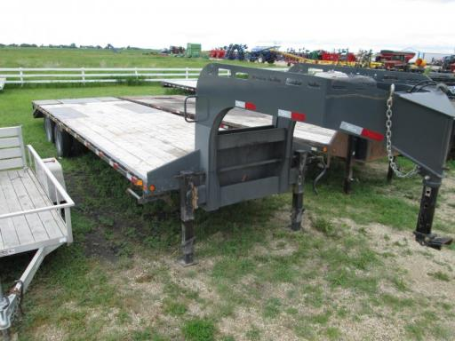 2013 Precision 8.5x245 pop-up beavertail gooseneck