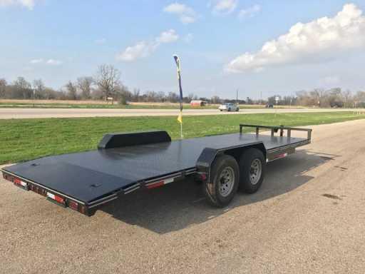 2017 East Texas 83x22 car hauler