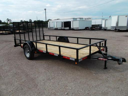 2017 Longhorn 77x14 single axle