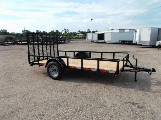 2018 Longhorn 77x12 single axle
