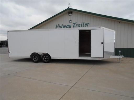 2017 Interstate one trailers 8.5' x24' all aluminum