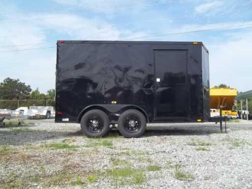 2018 Bendron Titan 7x12 black on black