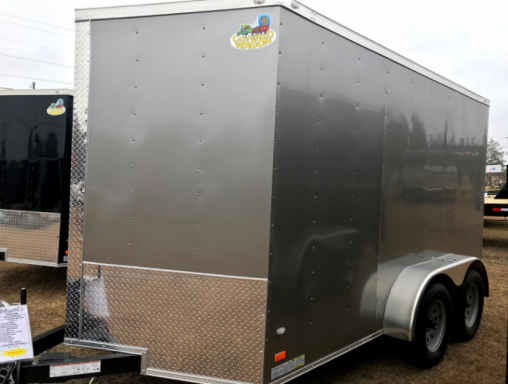 2018 Covered Wagon 7x12 ta enclosed covered wagon
