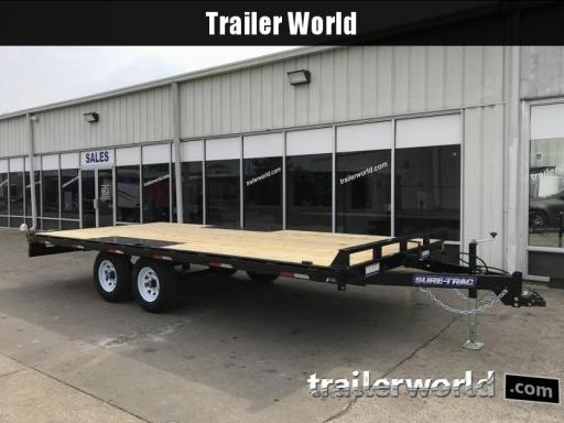 2019 Sure-Trac low profile flatbed deckover
