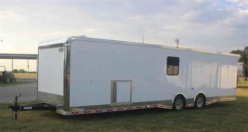 2020 Continental new 34' car trailer w/bath pkg