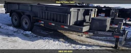 2018 Titan 14 bp dump trailer