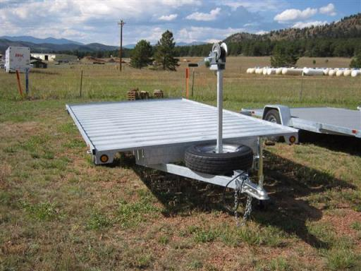 2017 Sportrail on sale: 12' galvanized raft trailer