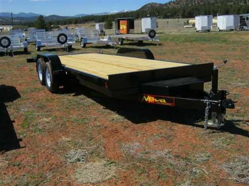 2018 Midsota 18' ta tilt deck flatbed, toolbox, spare (tb8218)
