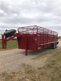 2019 W-W roustabout 24'x6'8