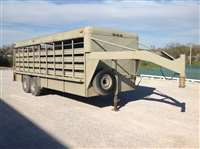 1989 Coose 7' x 20' gn stock