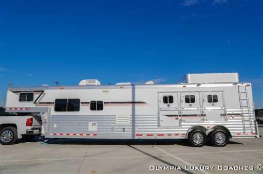 2006 4-star 3 horse 16ft sw outlaw lq