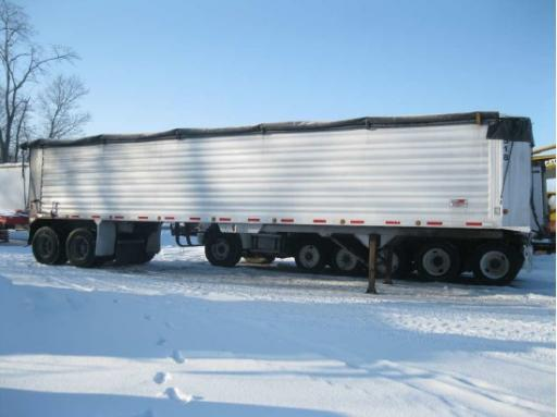 2007 Travis travis dump trailer