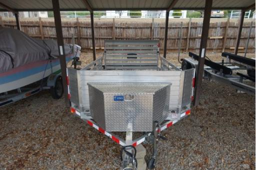 2014 Ever-lite aluminum trailer