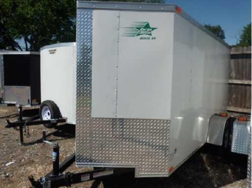 2017 Cargo South trailer