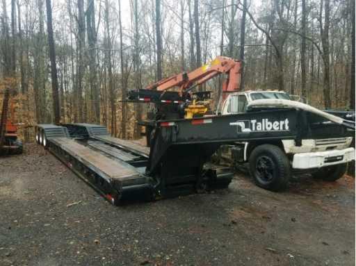 1999 Talbert 50 ton rgn