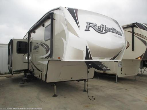 2017 Grand Design RV reflection