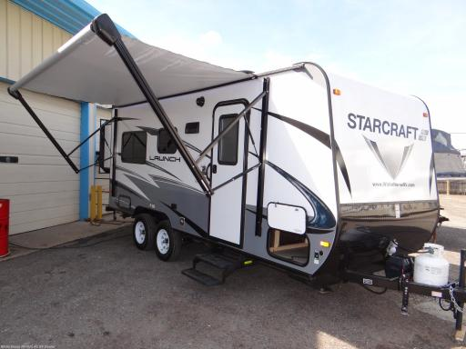 2018 Starcraft RV launch outfitter