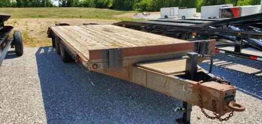 1994 Belshe Industries flatbed pintle