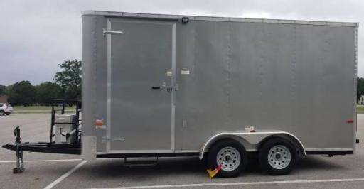 2016 Cargo Craft 7 x 16 mobile office