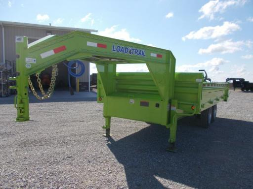 2019 Load Trail safety green 8k axles 96x16