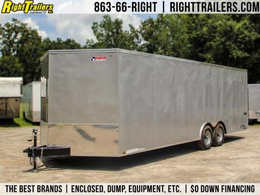 2018 Pace American enclosed trailer