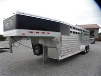 2020 4-star 7'x24'x7' deluxe stock combo trailer!!