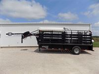 2014 Coose 16' stock trailer