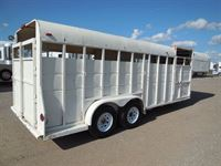 1990 Charmac the original perfect trailer...horses and cattle!