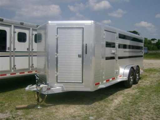 2017 Hillsboro endura 18' bp pen trailer